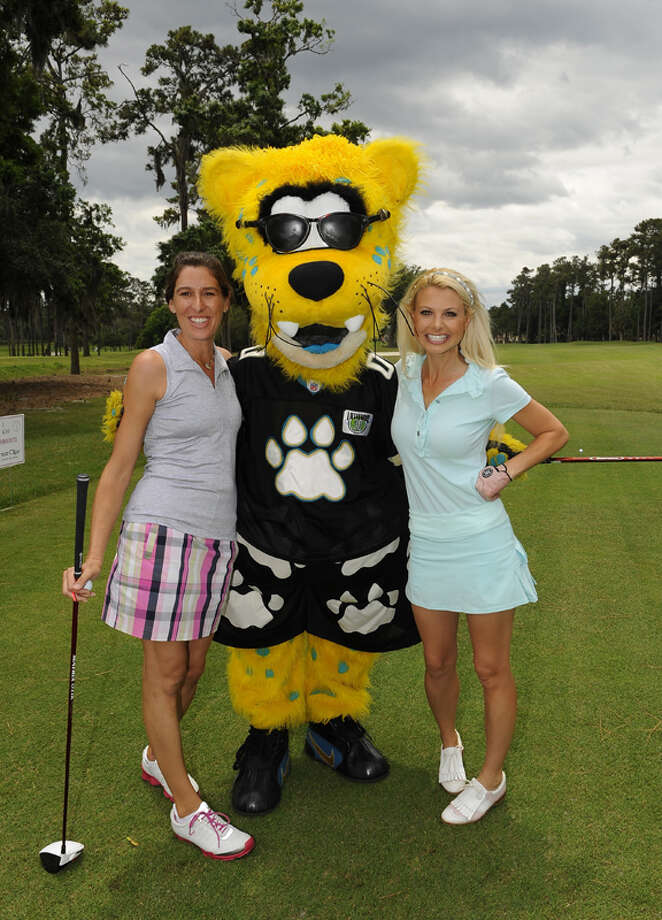 Personally, we think the Jacksonville Jaguars' Jaxson DeVille looks kind of cheesy, but apparently he's very popular with the ladies. Can't argue with that. Photo: Chris Condon, US PGA TOUR / 2013 Chris Condon/PGA TOUR
