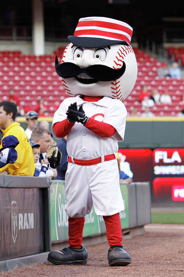 Cincinnati Reds mascot Mr. Redlegs has one sweet 'stache. Photo: Joe Robbins, Getty Images / 2011 Joe Robbins