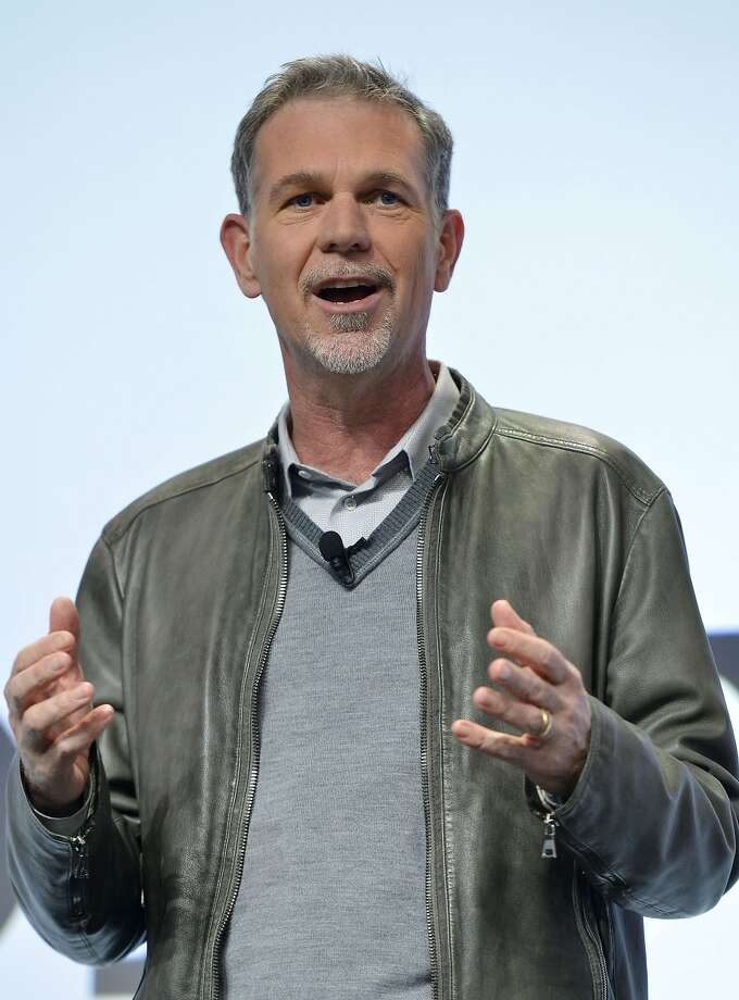 Netflix CEO Reed Hastings says the firm felt pressure to sign with Comcast. Photo: Jack Dempsey, Associated Press