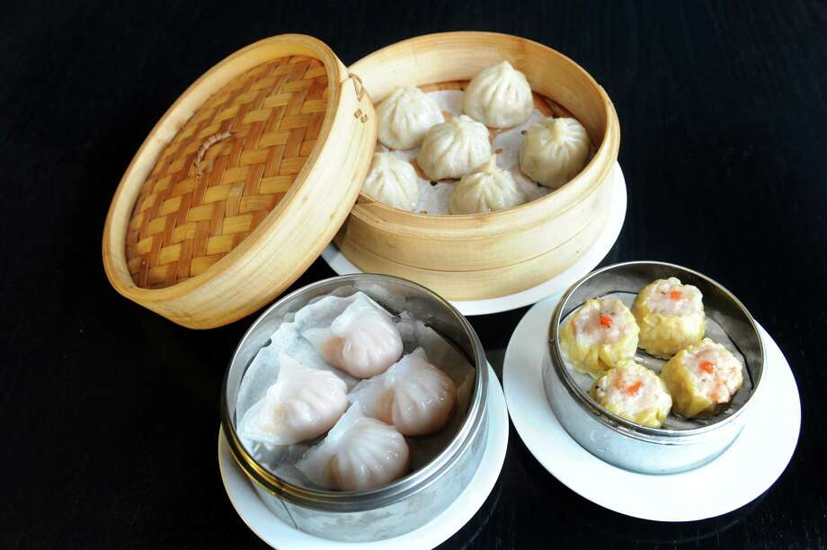 Rain Modern Chinese259 Lark St.Albany, NY518-729-4827View Web siteShrimp dumplings, left, Shanghai soup dumplings, center, and pork siu mai on Wednesday, Jan. 15, 2014, at Rain Modern Chinese in Albany, N.Y. (Cindy Schultz / Times Union) Photo: Cindy Schultz / 00025338A