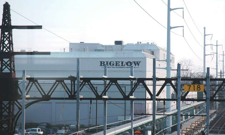 The Bigelow Tea headquarters as seen from the nearby Fairfield Metro Railroad Station. Photo: Contributed Photo / Fairfield Citizen contributed