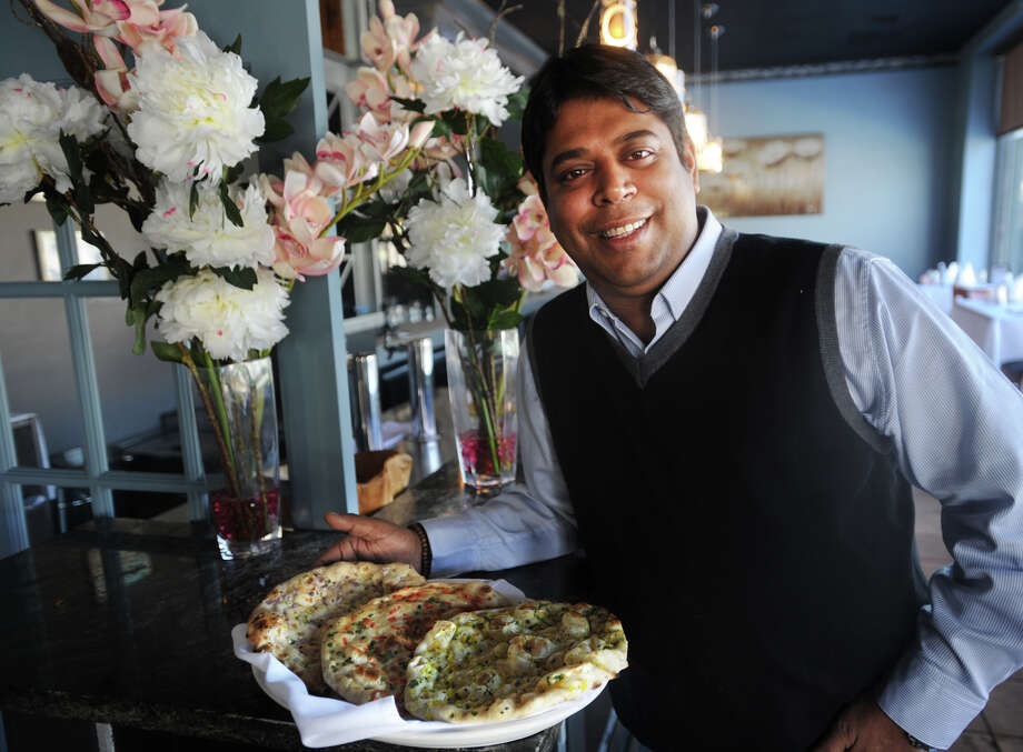 Kausik Roy, chef/co-owner of Aladin Indian Bistro at 36 Westport Avenue in Norwalk, Conn. on Thursday, January 23, 2014. Photo: Brian A. Pounds / Connecticut Post