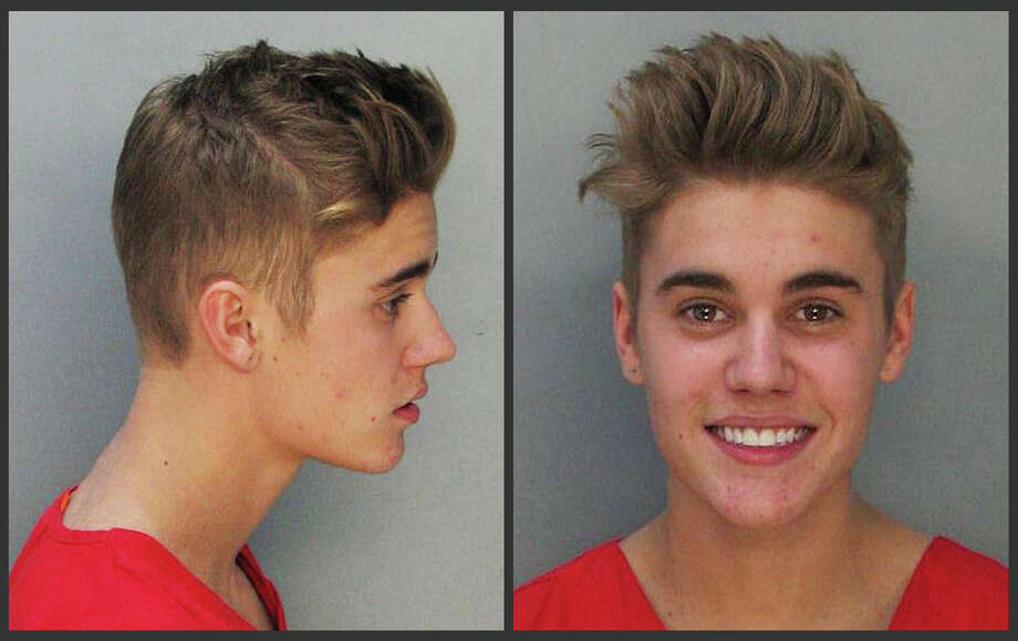 Singer Justin Bieber was arrested in January 2014 for driving under the influence in Miami, Fla. Photo: Uncredited, HOPD / Miami Dade County Jail