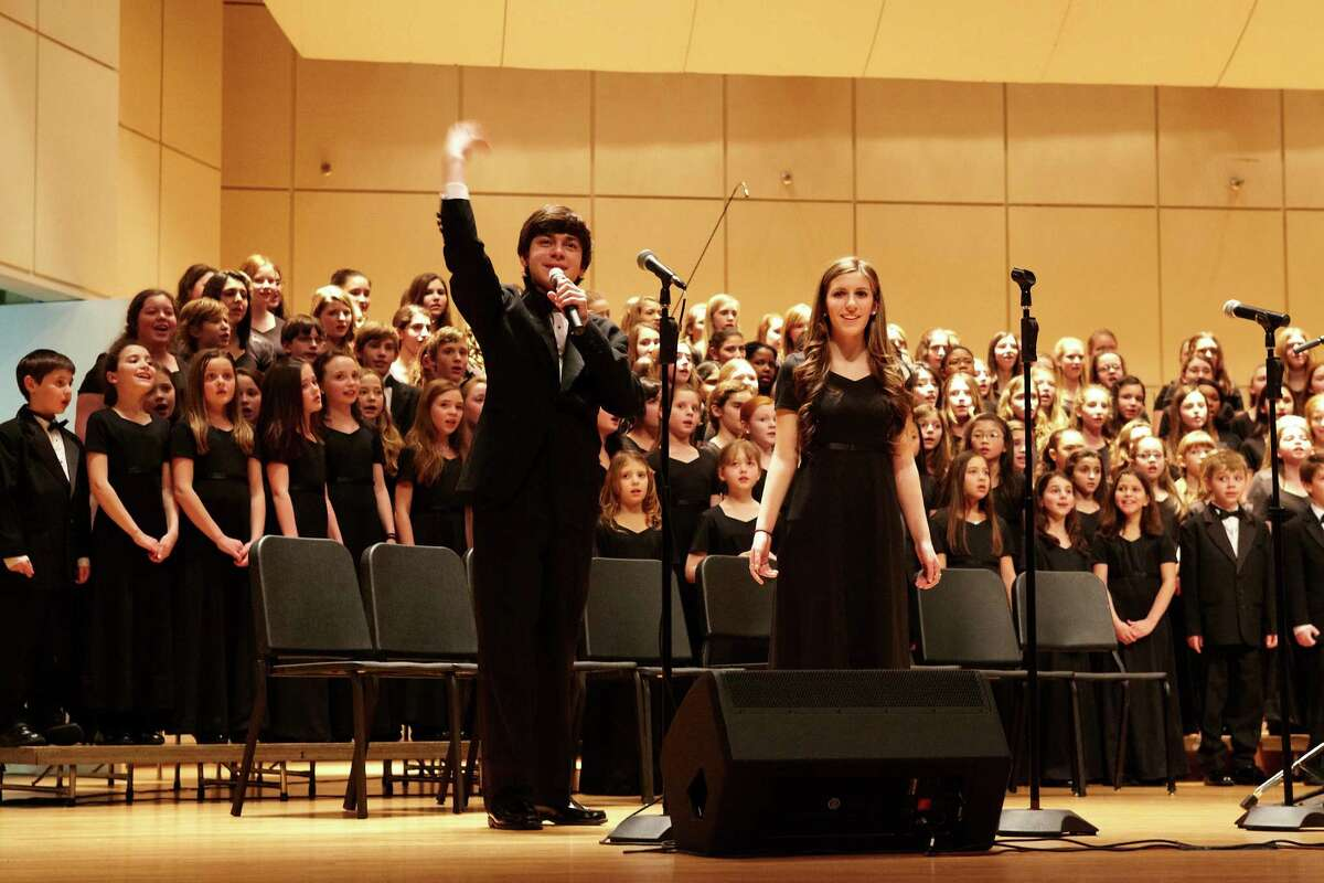 """The Fairfield County Children's Choir, with a mass choir of 300 voices, will present its popular 15th annual """"Spotlight Broadway"""" concert, Saturday, Feb. 1, at 7 p.m. at the Klein Memorial Auditorium."""