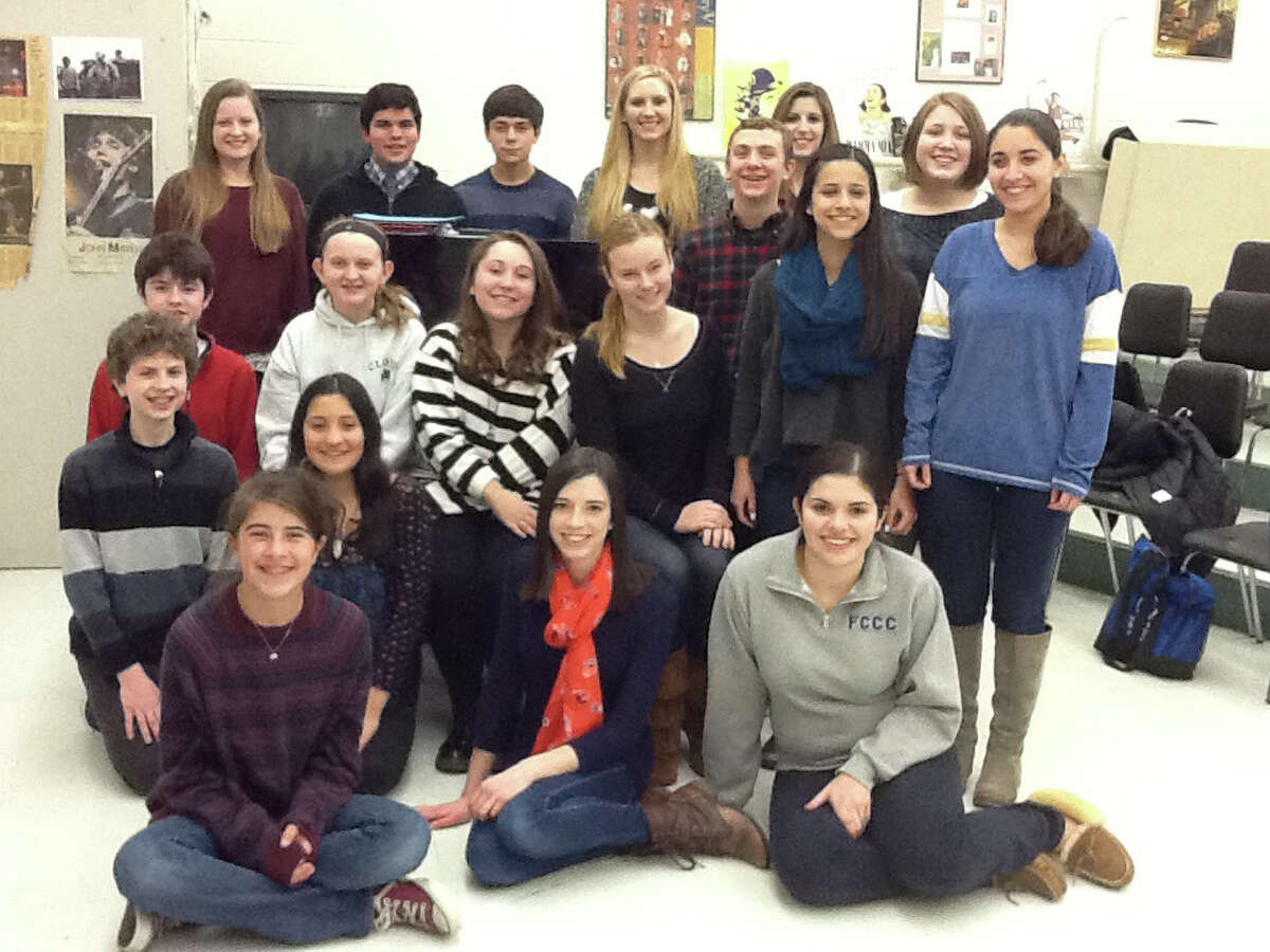 """Among the 300 singers who will participate in the Fairfield County Children's Choir """"Spotlight Broadway"""" will be these soloists, above, all from Fairfield. The concert takes place Saturday, Feb. 1, at Bridgeport's Klein Memorial Auditorium."""