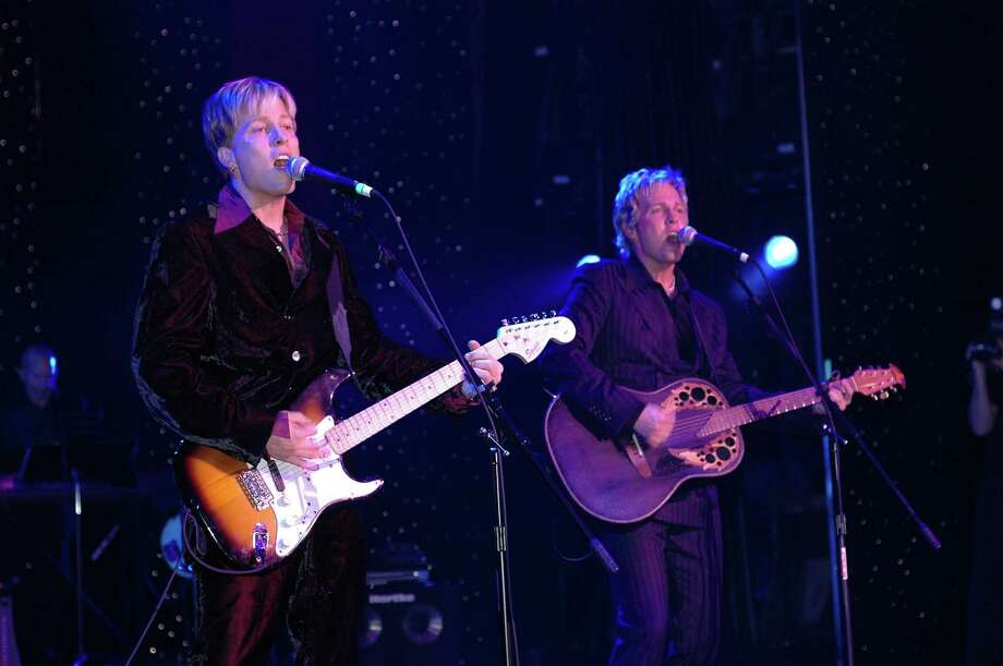 "Gunnar and Matthew Nelson, the sons of the late television star, singer and songwriter Ricky Nelons, will perform in ""Ricky Nelson Remembered"" at the Palace Theatre in Stamford, Conn., at 8 p.m. on Saturday, Feb. 1, 2014. For more information about tickets visit www.scalive.org. Photo: Contributed Photo / Stamford Advocate Contributed"