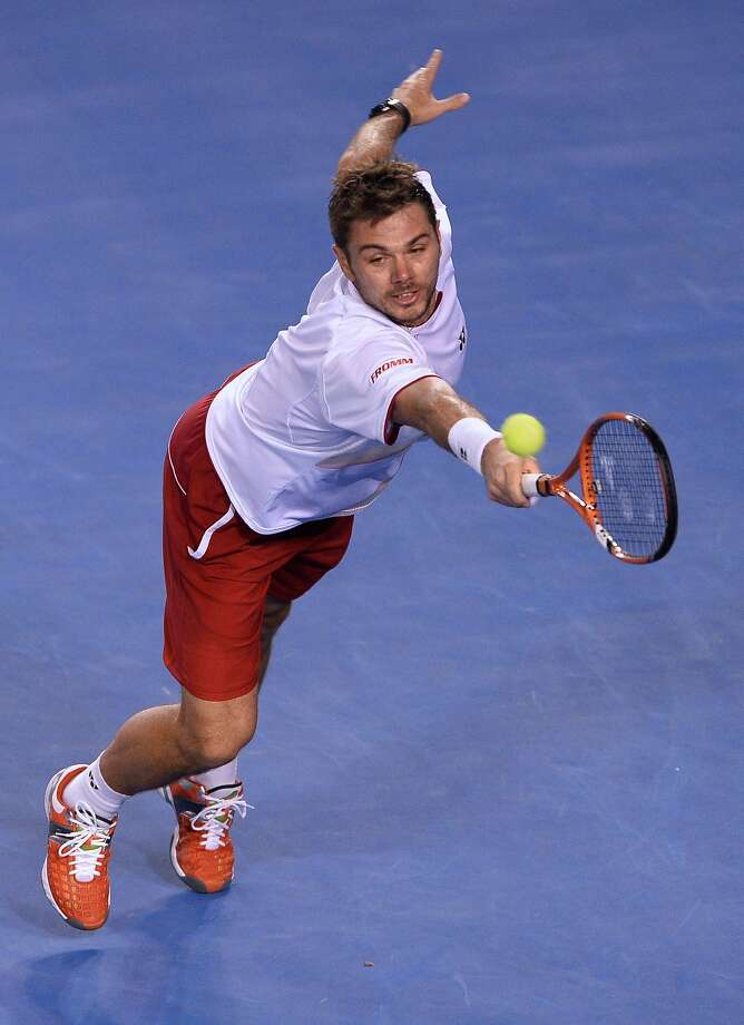 Stanislas Wawrinka has played in the shadow of fellow Swiss star Roger Federer, but has made his first Grand Slam final. Photo: William West, AFP/Getty Images