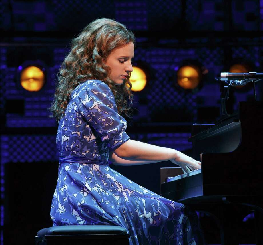 """Jessie Mueller portrays singer/songwriter Carole King in """"Beautiful: The Carole King Musical"""" on Broadway at the Stephen Sondheim Theater. Photo: Joan Marcus / Associated Press / The O+M Co."""
