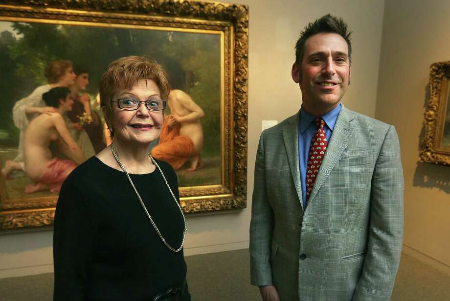 The San Antonio Museum of Art has hired curators for new positions. William Keyse Rudolph is the curator of American art and chief curator of collections, and Merribell Parsons is curator of European art. Photo: Bob Owen / San Antonio Express-News / © 2012 San Antonio Express-News