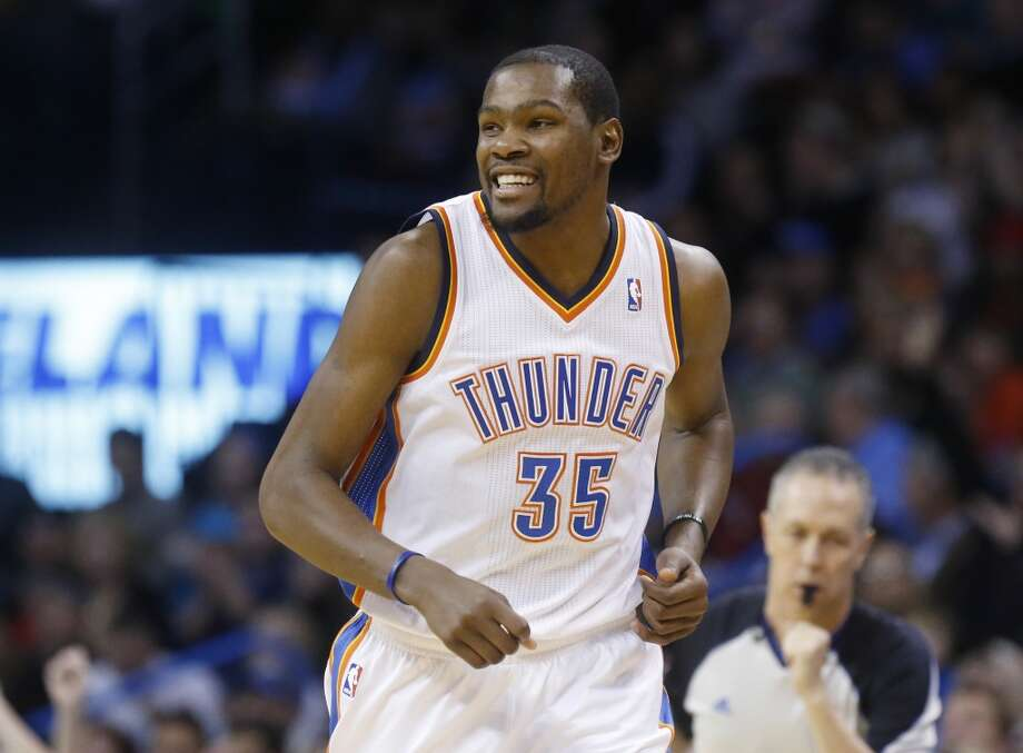 Western Conference starter  Kevin Durant Oklahoma City Thunder - forward Votes: 1,396,294 Photo: Sue Ogrocki, Associated Press