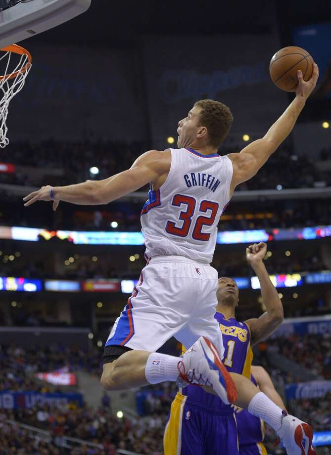 Western Conference starter  Blake Griffin Los Angeles Clippers - forward Votes: 688,466 Photo: Mark J. Terrill, Associated Press