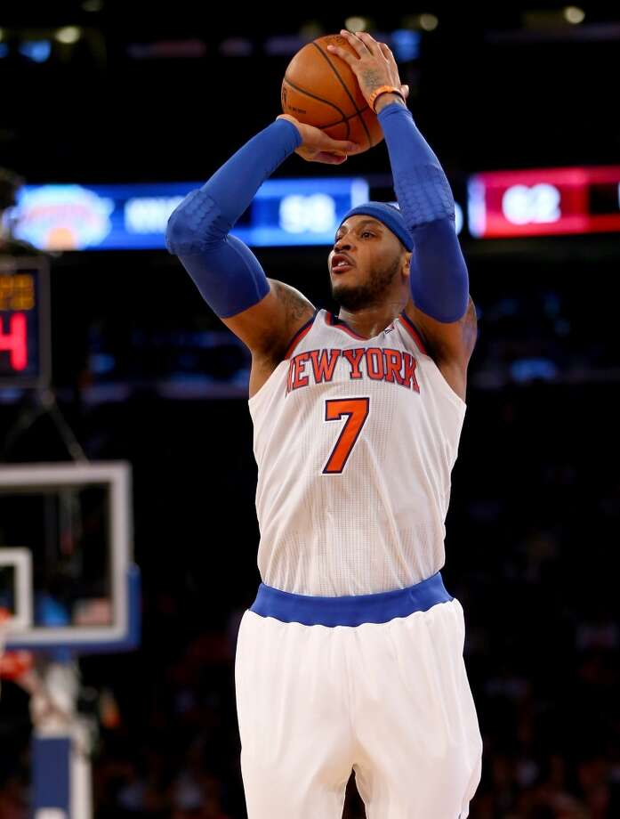 Eastern Conference starter  Carmelo Anthony New York - forward Votes: 935,702 Photo: Elsa, Getty Images