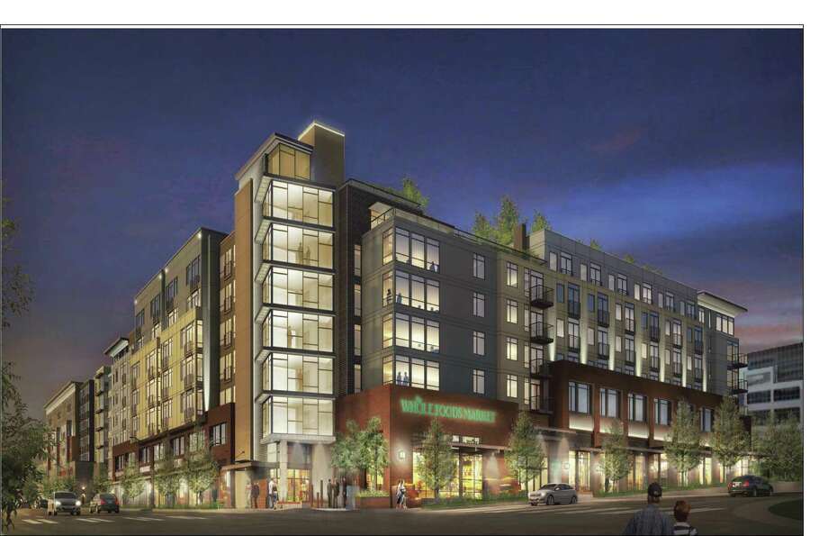 "A depiction of ""The Whittaker,"" in West Seattle. Photo: Courtesy Fuller/Sears, Weber Thompson"