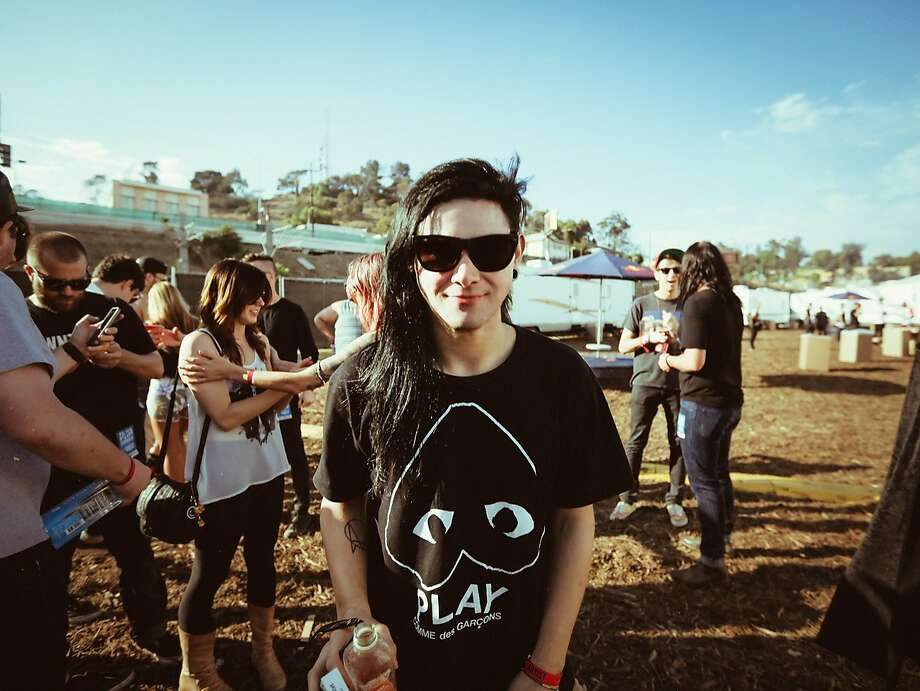 Sonny Moore - who records and performs as Skrillex - has come a long way from his days as front man of From First to Last. Photo: Blood Company