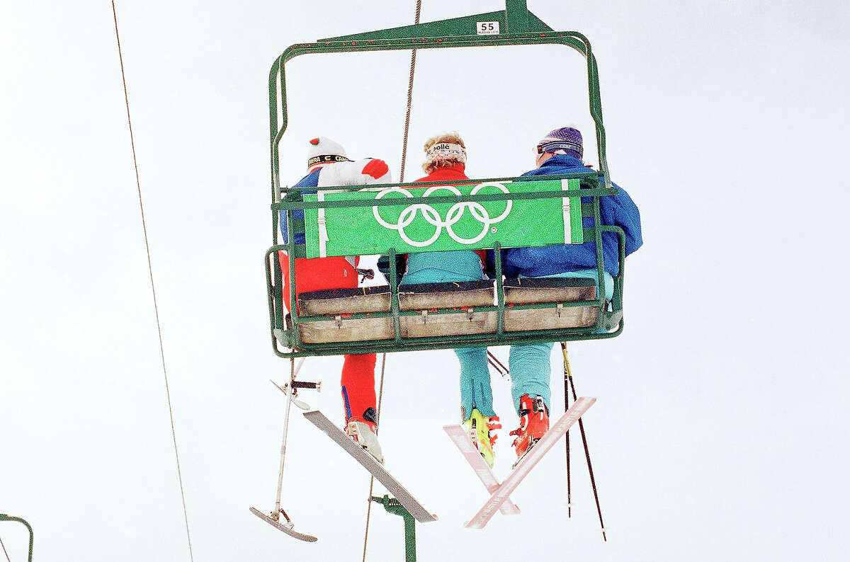 Disabled skiing - demonstration sport 1984, 1988 The Paralympics made this event redundant and it was dropped.