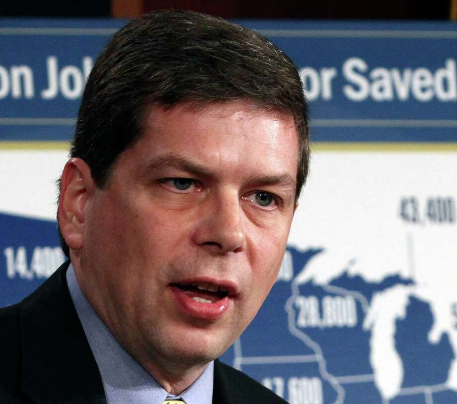 Mark Begich has criticized the administration on offshore drilling. Photo: Jacquelyn Martin, STF / AP