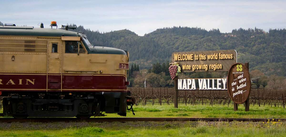 The Napa Valley Wine Train offers special Valentine's Day Weekend runs in either the intimate, glass-enclosed Vista Dome or luxury Gourmet Express car. Exterior3