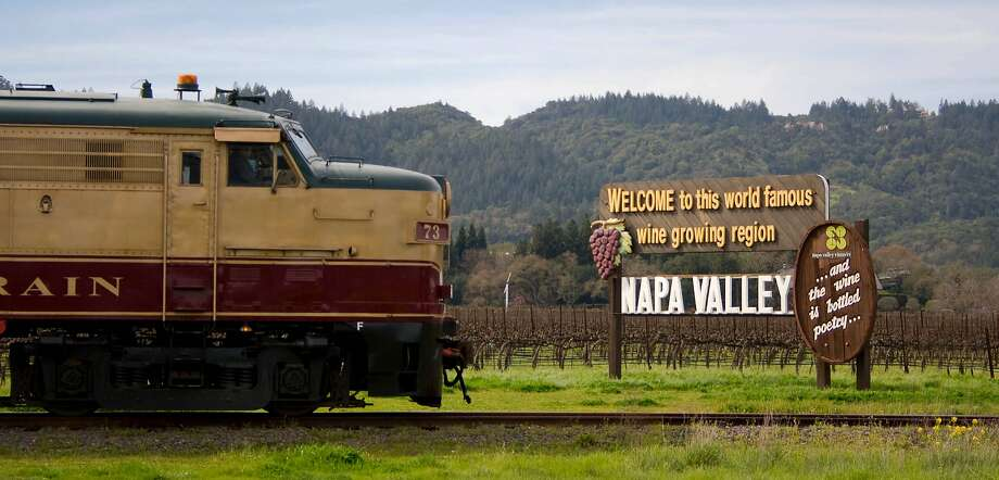 The Napa Valley Wine Train offers special Valentine's Day Weekend runs in either the intimate, glass-enclosed Vista Dome or luxury Gourmet Express car. Exterior3 Photo: Napa Valley Wine Train