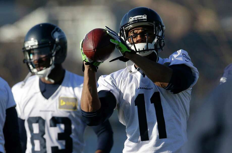 Percy Harvin's first season in Seattle was marred by a hip injury that kept him out of 15 games and a concussion that sidelined him for the NFC title game. Photo: Ted S. Warren, STF / AP