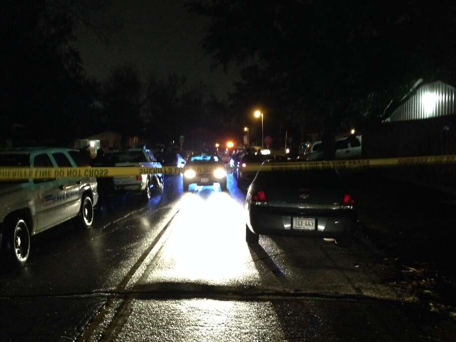 The officer-involved shooting happened in the n the 100 block of Joy Circle. (Mike Glenn/Chronicle)