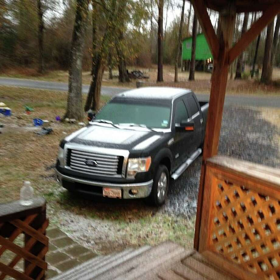 Photo shared through Facebook by Ashley McGill East in North Vidor.