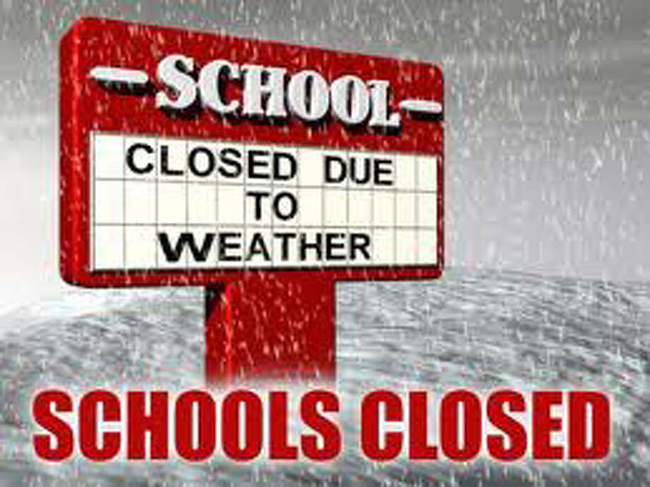 List of closed schools due to the weather