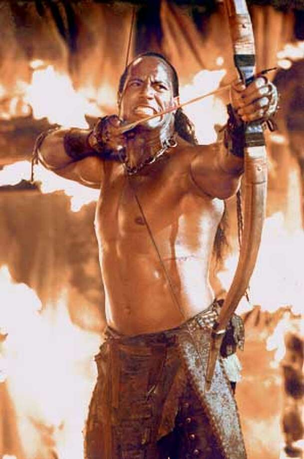 """The Scorpion King 2,"" 10:30 a.m. on AMC."