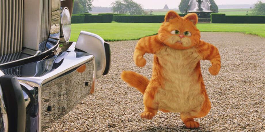 """Garfield 2: A Tale of Two Kitties,"" 4 p.m. on Cartoon Network."