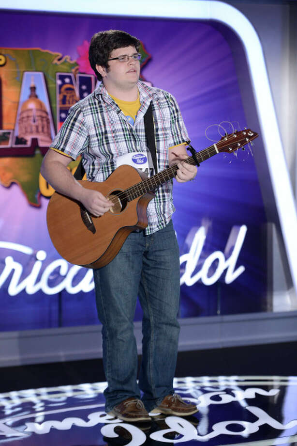 AMERICAN IDOL XIII: Atlanta Auditions: Contestant Jesse Cline auditions in front of the judges on AMERICAN IDOL XIII airing Thursday, Jan. 23 (8:00-9:00 PM ET/PT) on FOX. CR: Michael Becker / FOX. Copyright 2014 FOX BROADCASTING. / 1