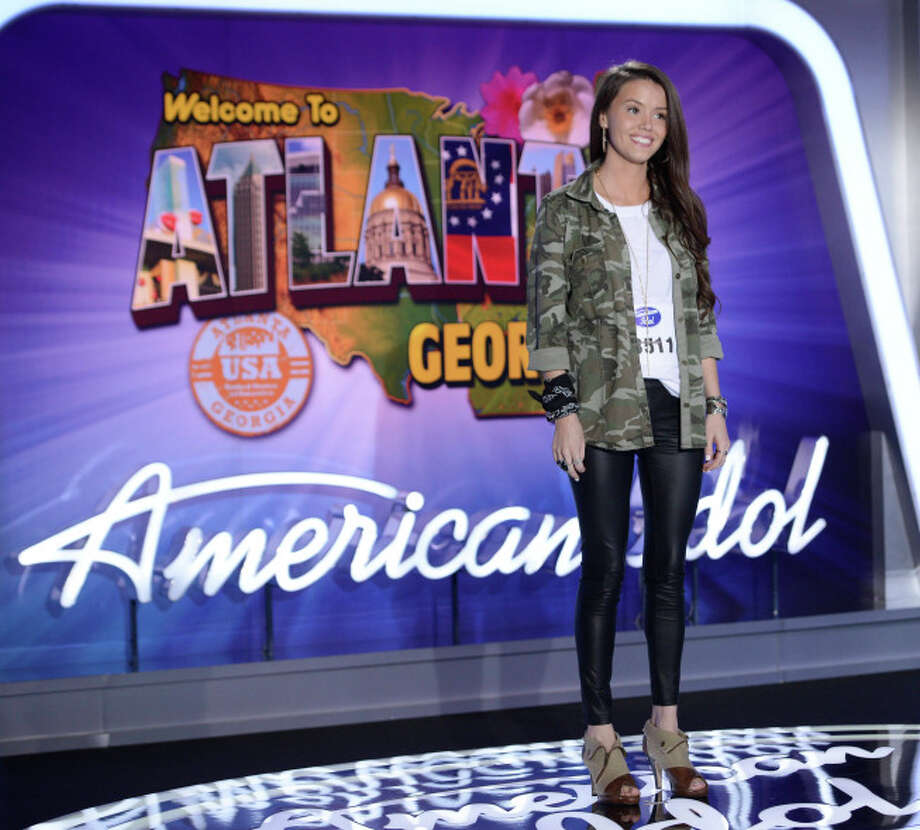"""AMERICAN IDOL XIII: Atlanta Auditions: Contestant Kristen O""""Conner Majesty Rose auditions in front of the judges on AMERICAN IDOL XIII airing Thursday, Jan. 23 (8:00-9:00 PM ET/PT) on FOX. CR: Michael Becker / FOX. Copyright 2014 FOX BROADCASTING. / 1"""