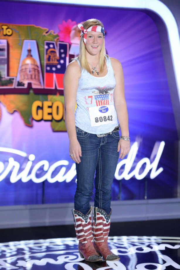 AMERICAN IDOL XIII: Atlanta Auditions: Contestant Lauren Ogburn auditions in front of the judges on AMERICAN IDOL XIII airing Thursday, Jan. 23 (8:00-9:00 PM ET/PT) on FOX. CR: Michael Becker / FOX. Copyright 2014 FOX BROADCASTING. / 1