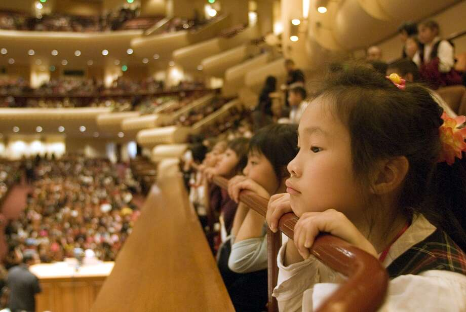 Attend a family concert at the San Francisco Symphony. Photo: SF Symphony