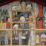 "View the Diego Rivera mural, ""Making a Fresco,"" at the San Francisco Art Institute on Russian Hill."