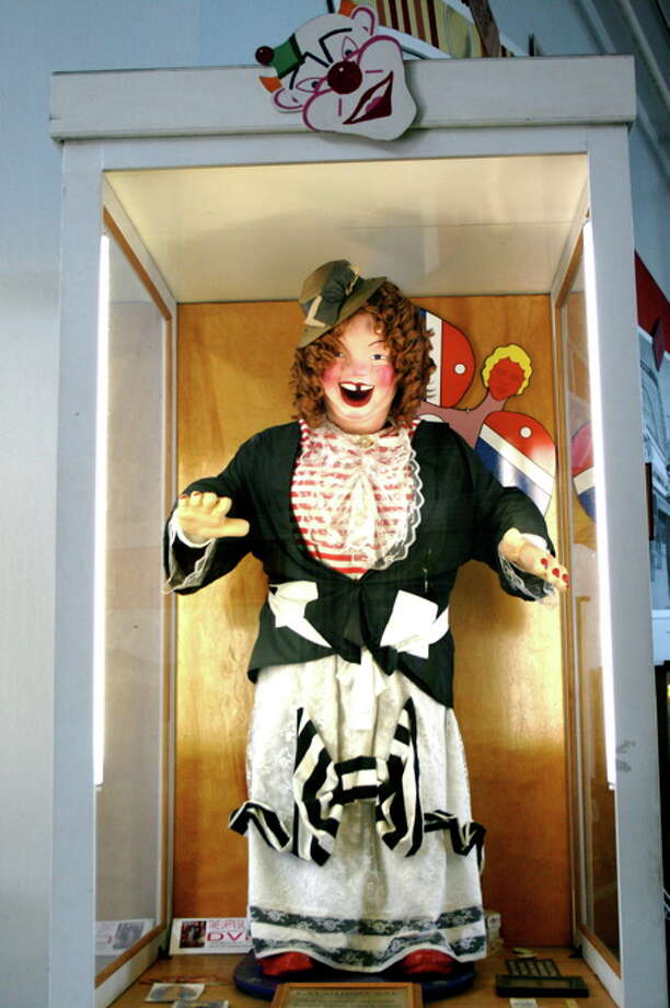 "Stick a penny into ""Laffing Sal"" at the Musée Mecanique. She's creepy but a classic who came from The Funhouse at San Francisco's Playland at the Beach. Photo: Dan Zelinsky"