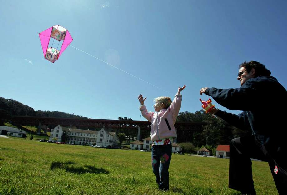 Fly a kite at Crissy Field. Photo: Hardy Wilson, The Chronicle