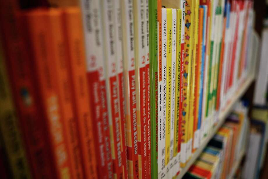 Check out books from the Children's Center at the Main Library. Photo: Maddie McGarvey, The Chronicle / ONLINE_YES
