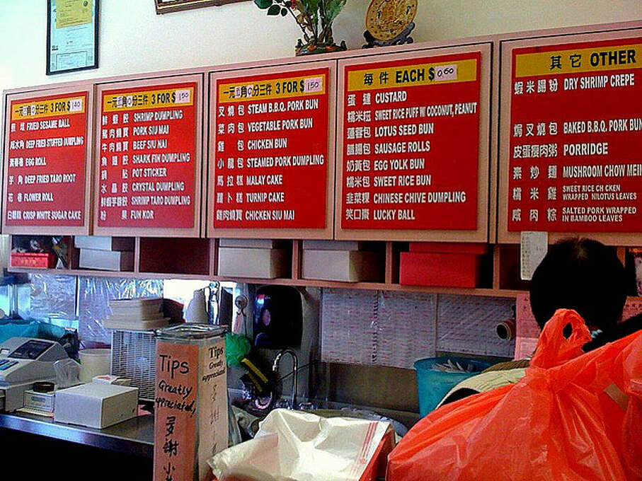 Go out for dim sum on Clement Street. Try Wing Lee Bakery or Good Luck.
