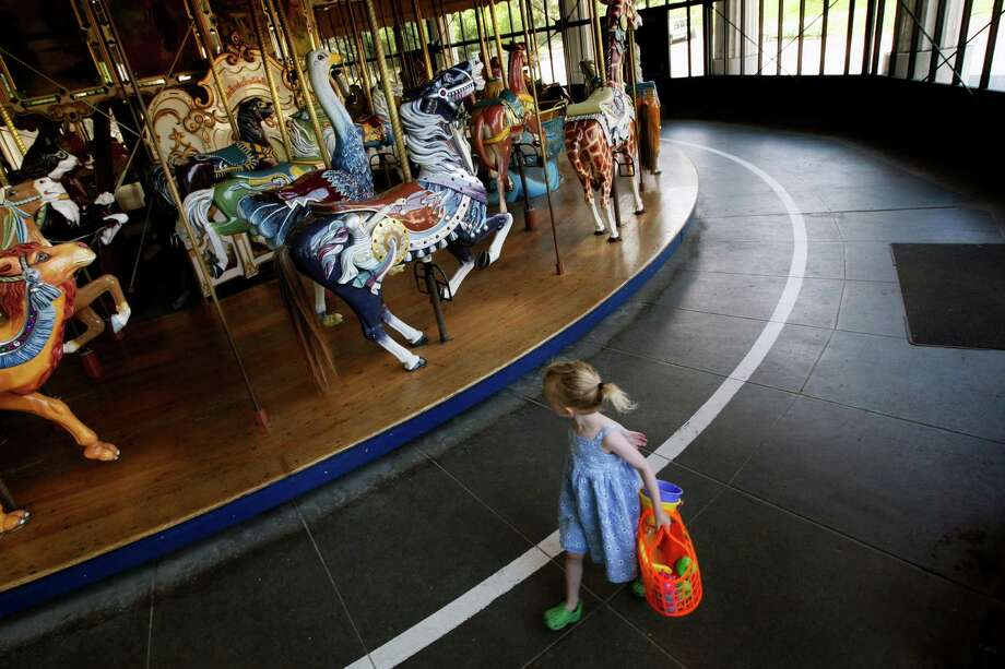 Ride the carousel at Golden Gate Park. Photo: Lance Iversen, The Chronicle