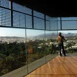 Ride to the top of the Hamon Observation Tower at the De Young Museum. It's free!