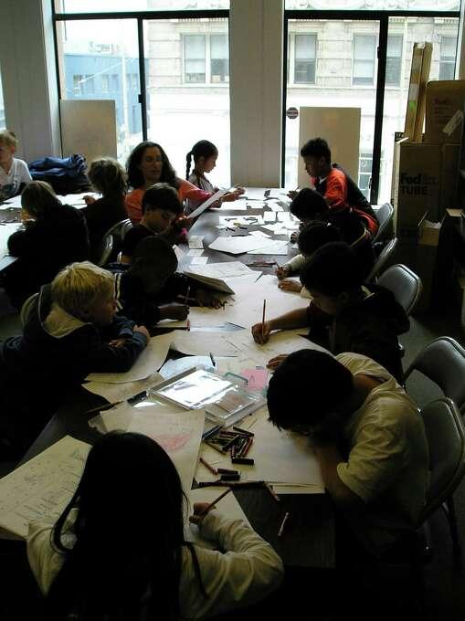 Take a class at the Cartoon Art Museum. Photo: Cartoon Art Museum, SFC
