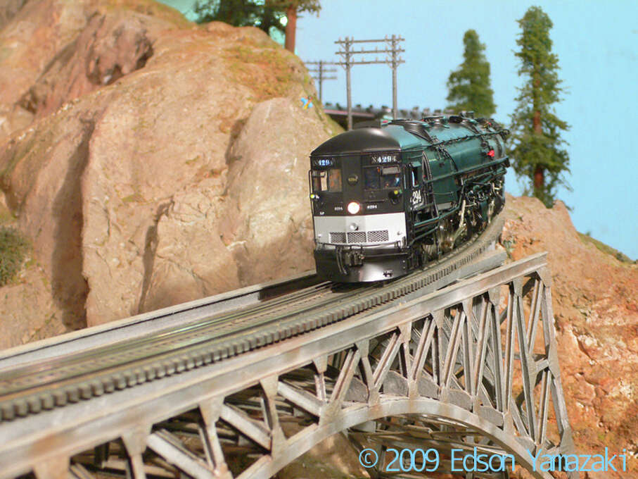 Watch the trains circle round the tracks maintained by the Golden Gate Model Railroad Club in the basement of the Randall Museum. Saturdays only.