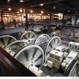 Learn what makes San Francisco's famous cable cars move on a tour of the Cable Car Museum.