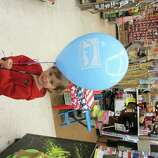 Get a free balloon at one of the cities many Cole Hardware stores.