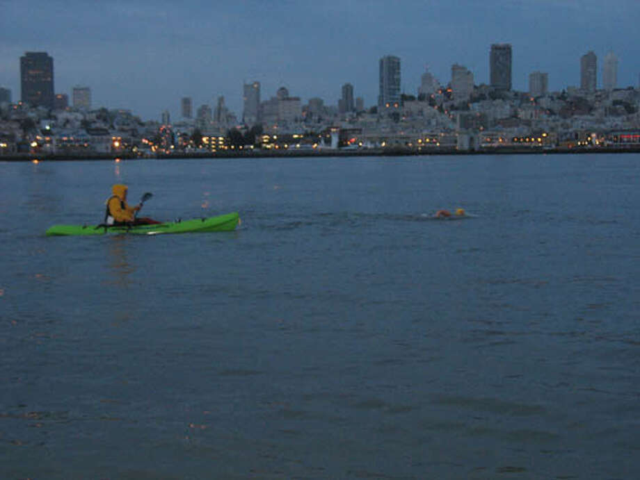 Kayak along the waterfront. Photo: Ho/handout