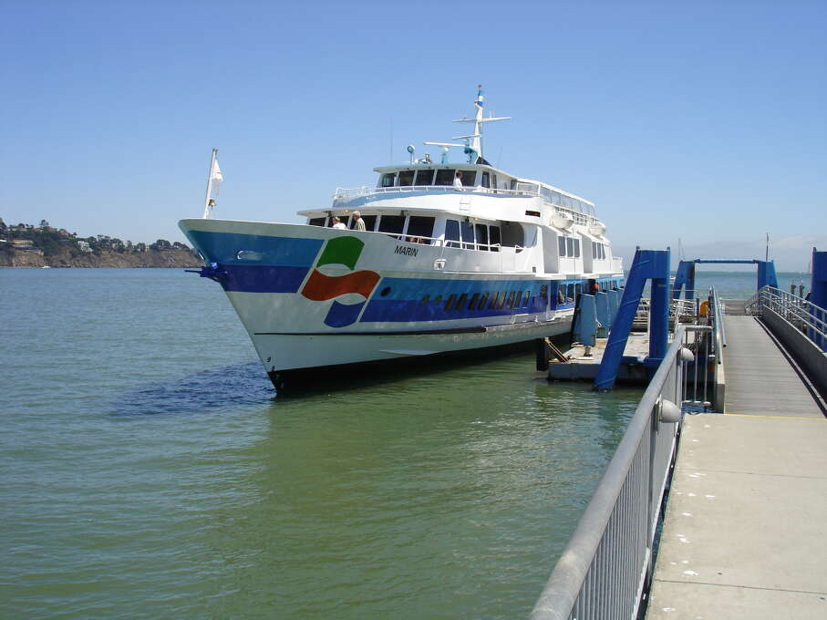 Take the ferry to Sausalito.