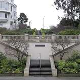 Walk down–or up–the Lyon Street Steps in Pacific Heights.