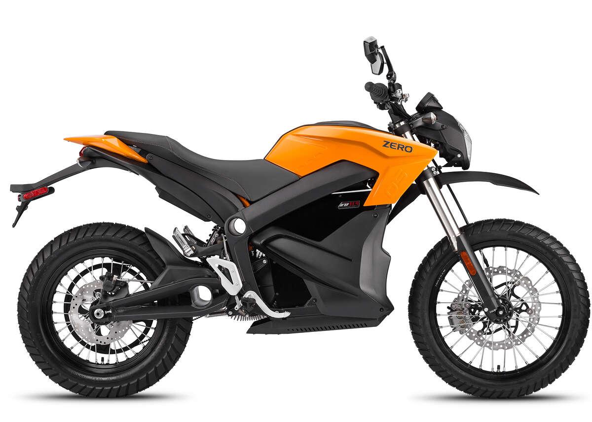 2014 Zero DS Range: 95 miles, cityPower: 54 hpMax speed: 98 mph