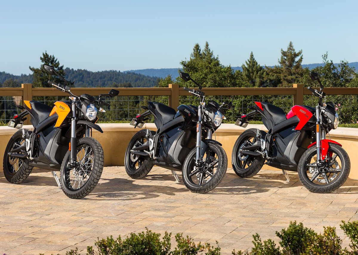 Are electric motorcycles the next big thing on two wheels? Possibly, but so far they aren't up to the standards of their gas-consuming brothers. Oh yeah, and they're quiet which is a huge drawback for some riders.Zero leads the pack in the electric motorcycle market with four offerings things year, the Zero S streetfighter, the Zero DS dualsport, the Zero RS sport bike and the Zero FX dirt bike. Two other manufaturers make production model electric motorcycles, Brammo, an Oregon company and Quaynta out of New York.Click through these photos to see some of the models available: