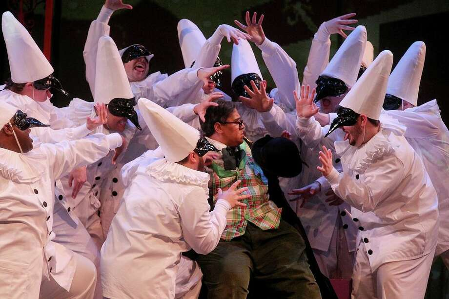 """The University of Houston's Moores Opera House delivers Rossini's classic """"The Barber of Seville"""" this weekend. The show kicks off tonight, Jan. 24. If you were iced in this morning, thaw out with the warmth of this musical comedy. Performances are at 7:30 p.m., tonight and Jan. 27, and 2 p.m., Jan. 26. Visit http://www.uh.edu/class/music/opera/ for more details. (Photos by Forest Photography)"""