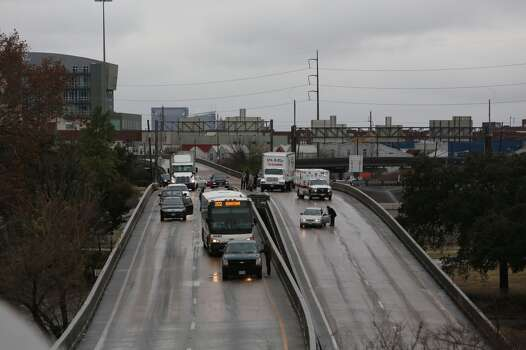 Interstate 45 northbound is seen near Pierce. (Michael Paulsen / Houston Chronicle) Photo: Michael Paulsen, Houston Chronicle